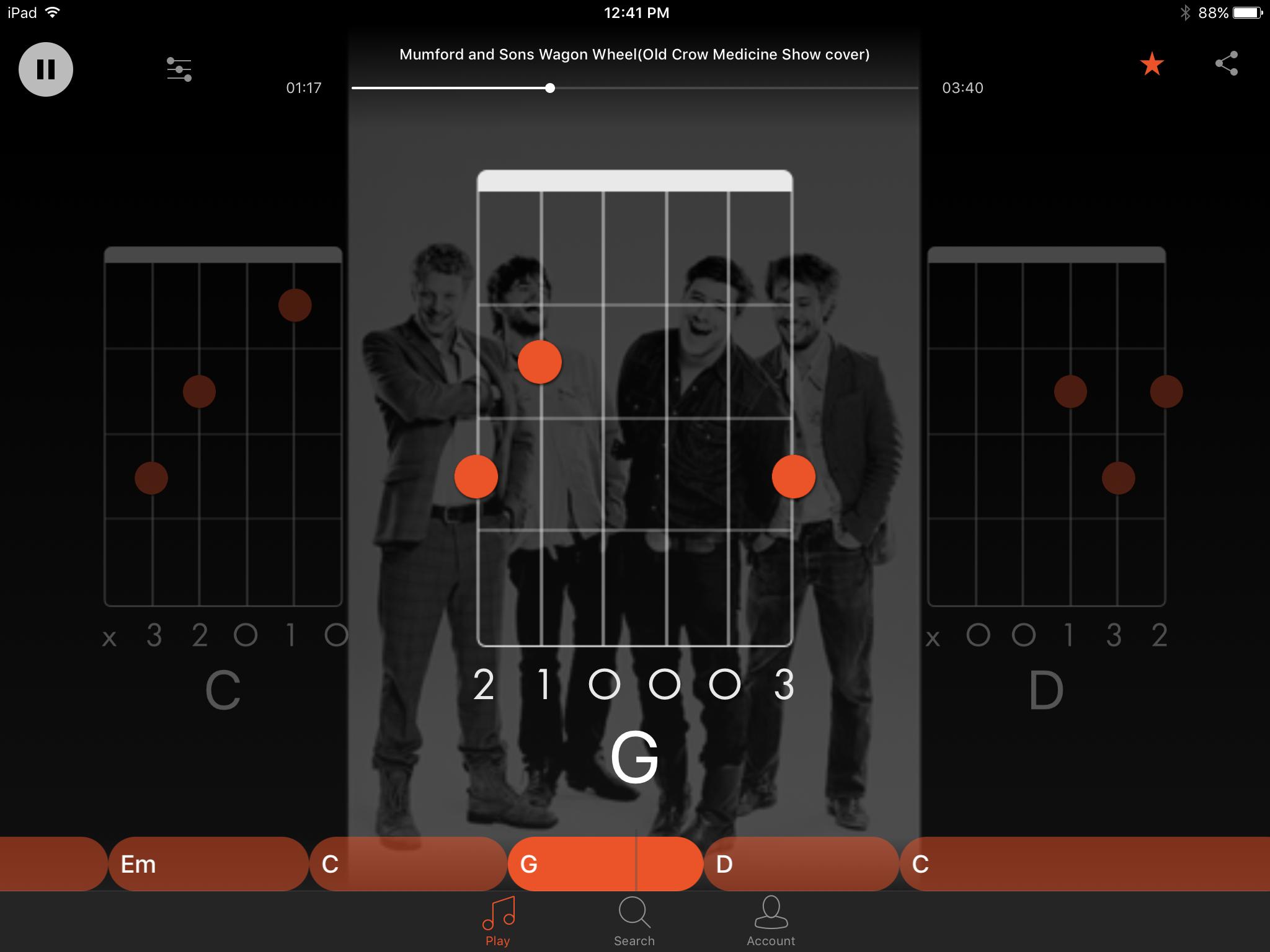 D String G Em C D Chords Guitar At Atu